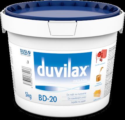 Výhody Duvilax BD-20 v stavebníctve